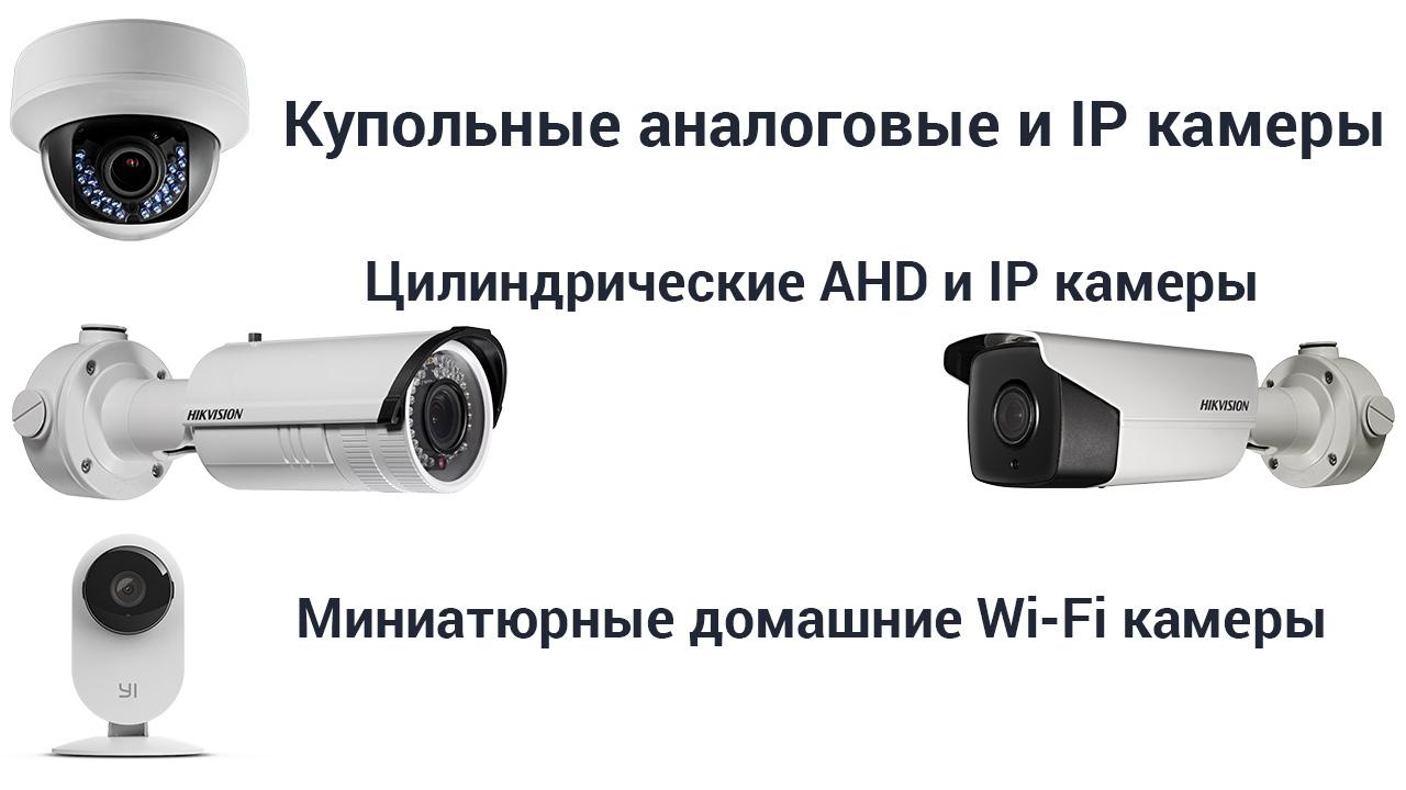 Видеокамеры для наблюдения
